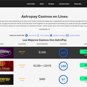 Main Logo: Astropay Chile